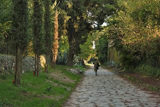 Lastricato dell'Appia Antica