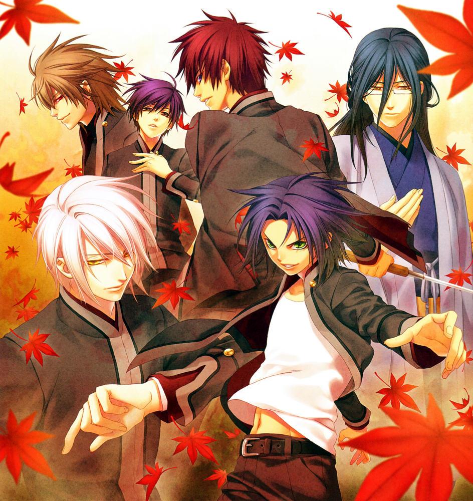 moonlight summoner u0026 39 s anime sekai  hiiro no kakera  u7dcb u8272 u306e u6b20 u7247