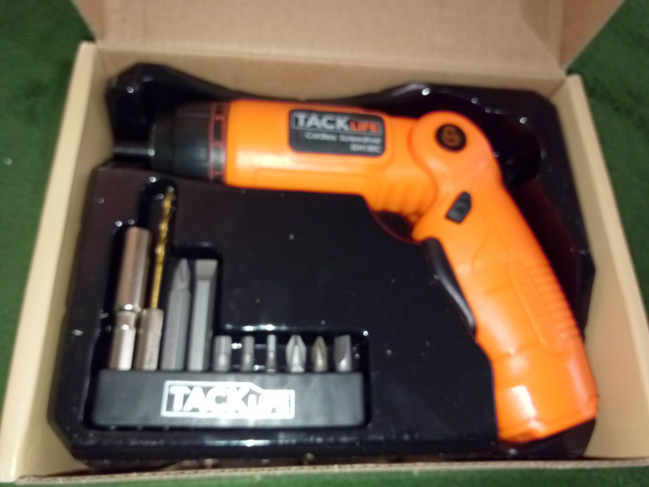 Tacklife Sdh13dc Advanced Cordless Screwdriver 36 Volt Max Torque Icing Kit Further Master Appliance Heat Gun On 120v Tape Wiring 4nm 3 Position Rechargeable With 10 Bits Usb Charger And 4 Led Light Ideal