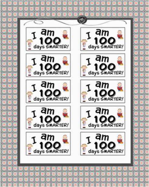 http://www.teacherspayteachers.com/Product/100-Days-Smarter-Labels-331214