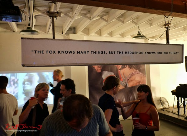 "its a sign; ""The fox knows many things, but the hedgehog knows one big thing"""