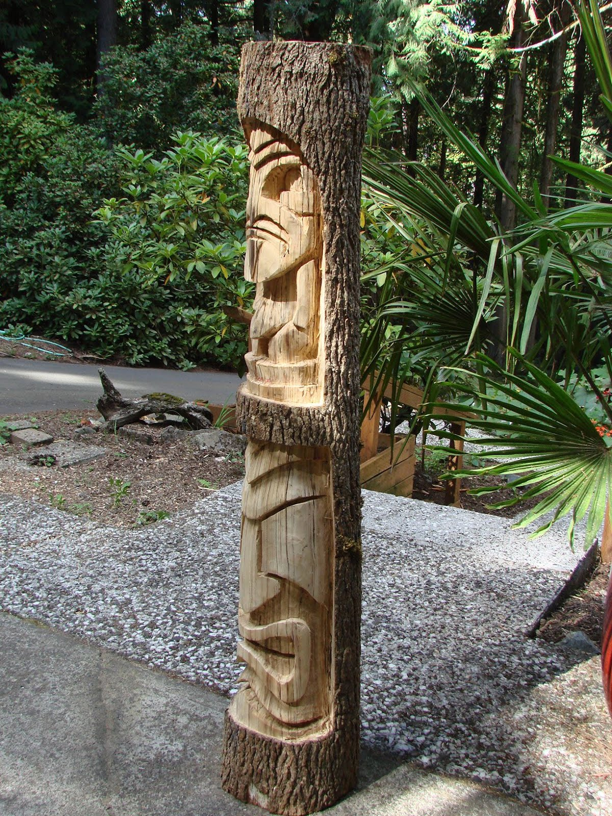 It is modeled after a tiki at Don the Beachcombers.