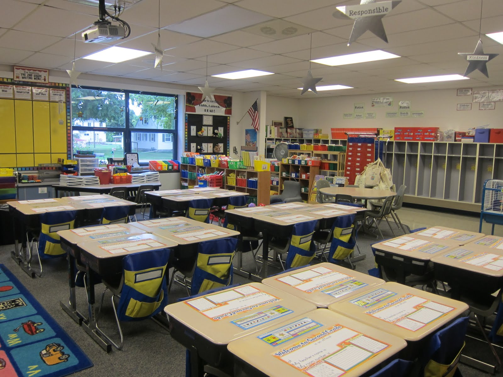 Classroom Design Description ~ What happens in nd grade classroom tour