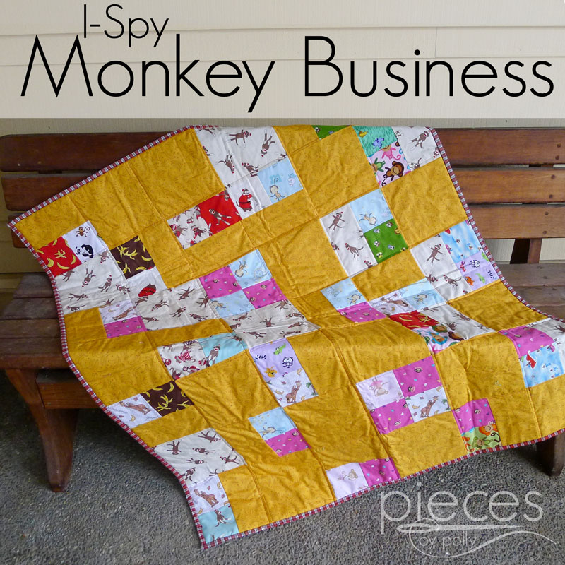 Pieces by Polly: I Spy ... Monkey Business Quilt : monkey business quilt pattern - Adamdwight.com