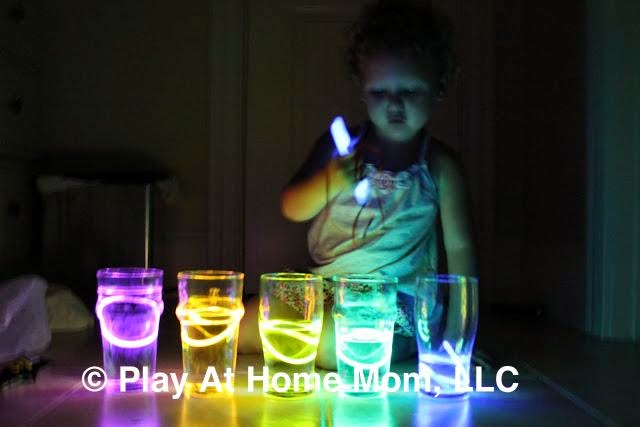 http://www.playathomemomllc.com/2011/07/glow-sticks-thinking-outside-the-box/