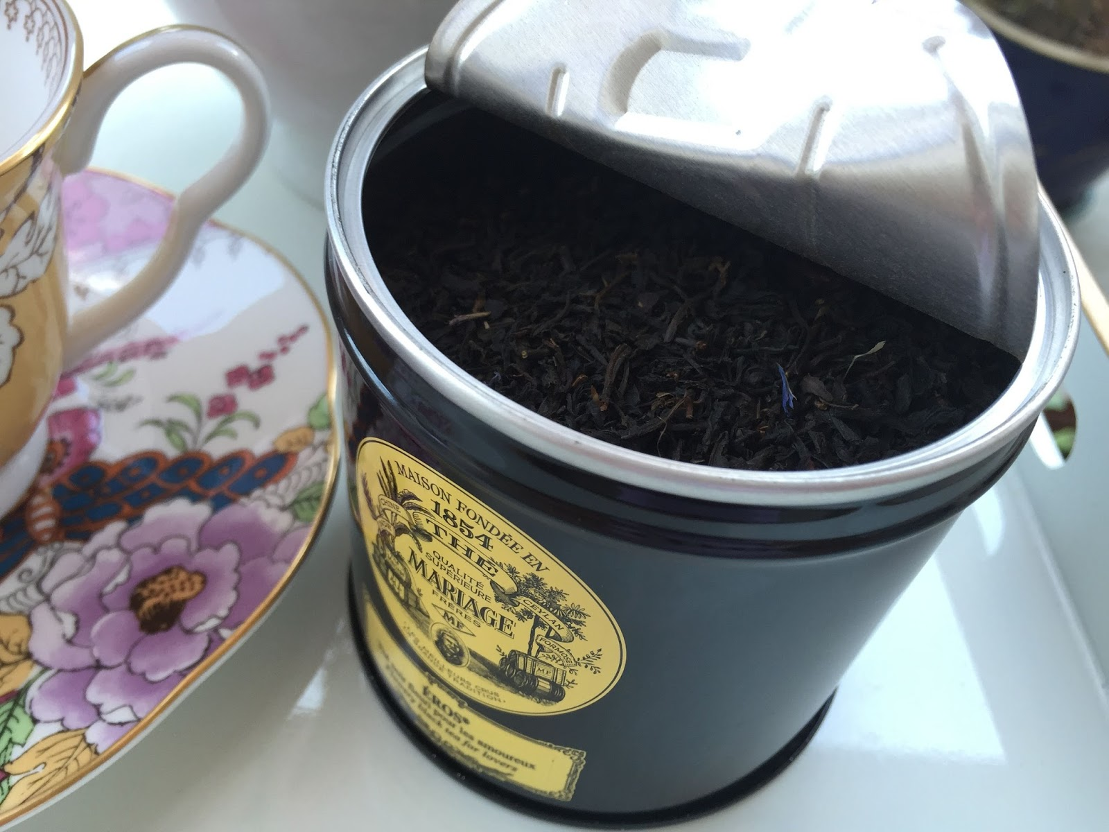 i love that mariage seals its tea tins so well the aroma and taste are perfectly preserved - Mariage Freres Nancy