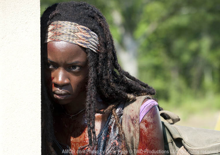 the walking dead 3x06 Michonne (Danai Gurira)