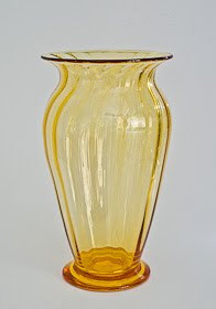 Wealdstone Range for Wuidart W13 Ribbed Vase designed by E. BARNABY POWELL