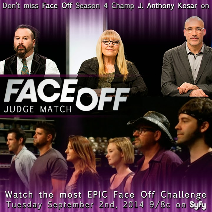 Judging Face on Face Off Judge Match