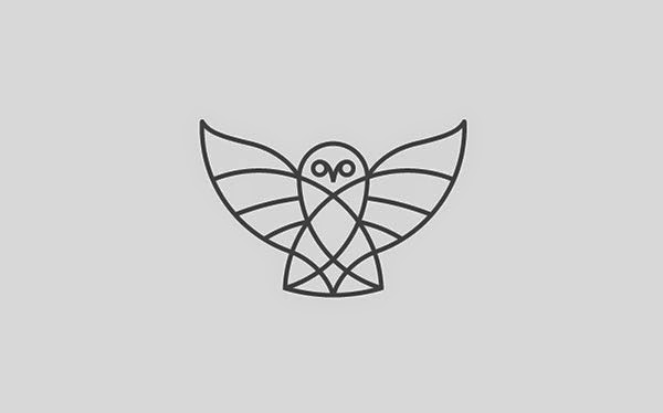 kumpulan desain logo bold  u0026 thin line