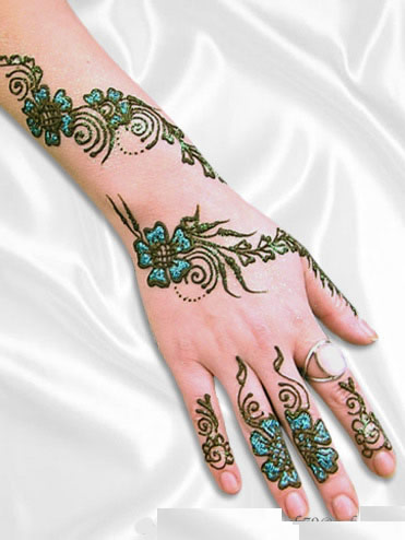 SIMPLE HENNA PATTERNS « Free Patterns