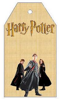Marcapaginas para imprimir gratis de Harry Potter.