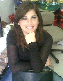 Giovanna Valcárcel posee unos hermosos ojos claros
