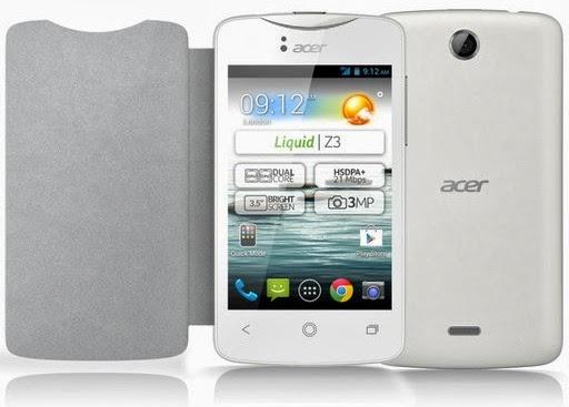 Gambar Ponsel Acer Liquid Z3 Android Jelly Bean Dual Core Murah