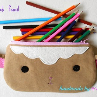 little lamb pencil case