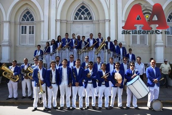 aniversário de 121 anos da Sociedade Musical XV de Novembro em Gravatá.