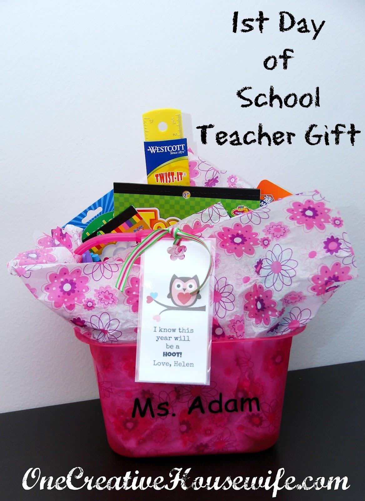 One creative housewife back to school teacher gift back to school teacher gift negle Gallery
