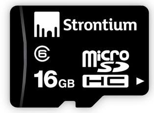 (Updated) Steal Deal: Strontium 16GB Micro SDHC Card Class-6 just for Rs.369 Only at Infibeam