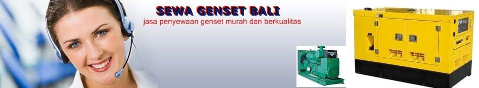 Bali Genset | Sewa Genset Bali | Genset Sewa