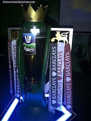 Barclays Premier League EPL Carlsberg beer tower