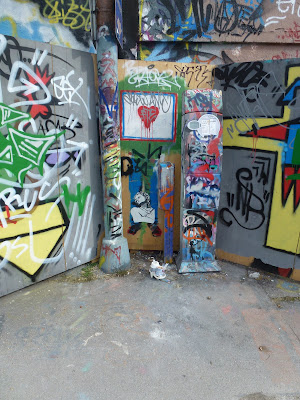 Streetart, Urbanart, Sticker