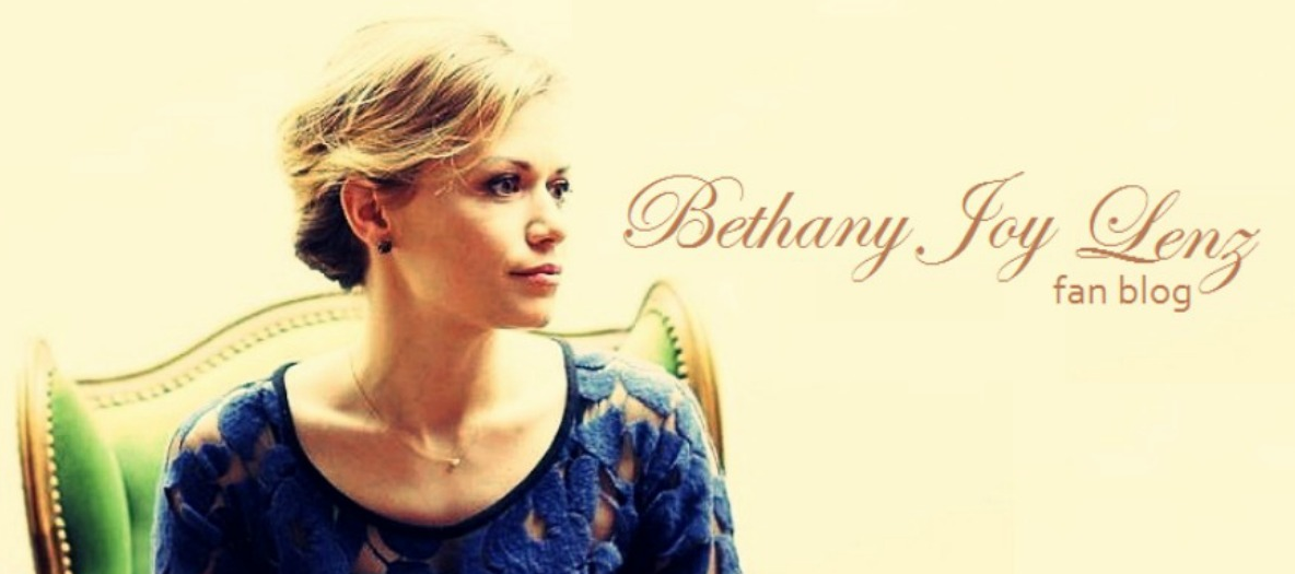 BETHANY JOY LENZ FAN BLOG | #1 source for Bethany Joy Lenz
