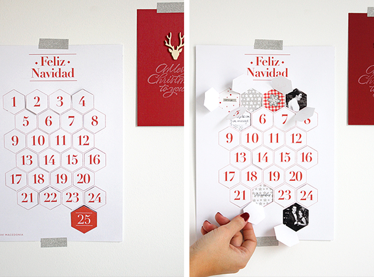 diy advent calendar, christmas diy, easy christmas diy, free advent calendar, how to make an advent calendar, calendario de adviento, calendario de adviento original, como hacer un calendario de adviento, diy navidad, manualidad navidad, navidad, tutorial calendario de adviento, calendario de adviento navidad, original advent calendar
