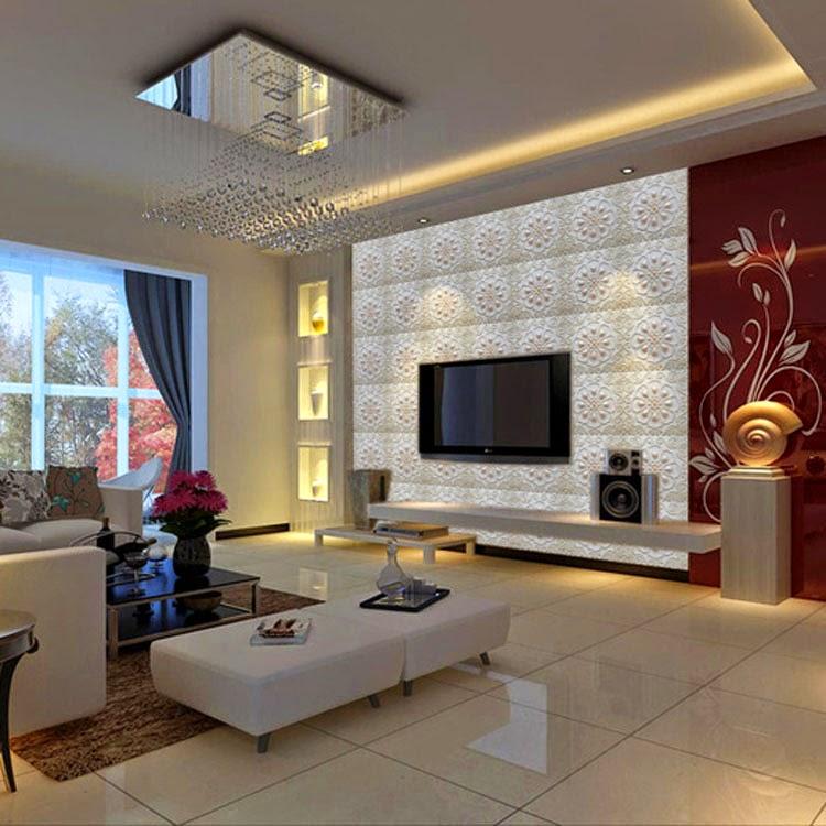 C mo montar tu tv en la pared casas ideas for Lo ultimo en decoracion de paredes