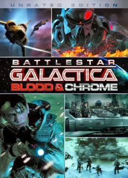 descargar Battlestar Galactica: Blood and Chrome – DVDRIP LATINO
