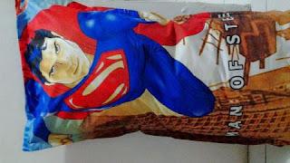Sarung Bantal Cinta Superman Kain Katun Jepang Murah Surabaya