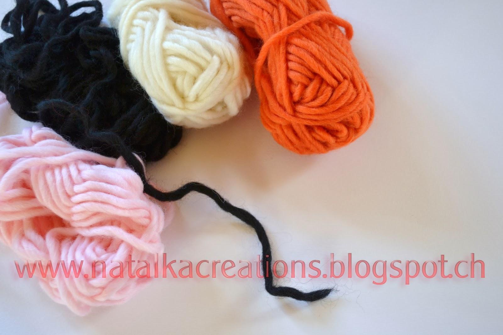 Как сделать волосы текстильной кукле