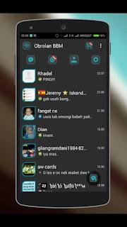 BBM Mod Dark L Versi 2.9.0.49