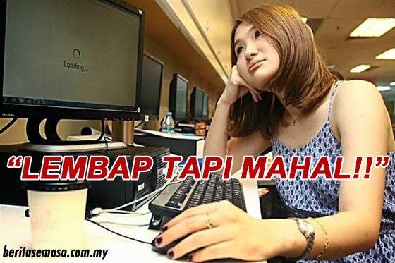 Caj Harga Langganan Pakej Internet di Malaysia Mahal Tetapi Kelajuan Internet Masih Lembap Kalah Dengan Kemboja Vietnam Respon Anda