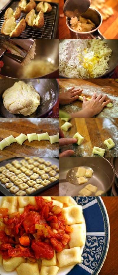 how to prepare potato gnocchi