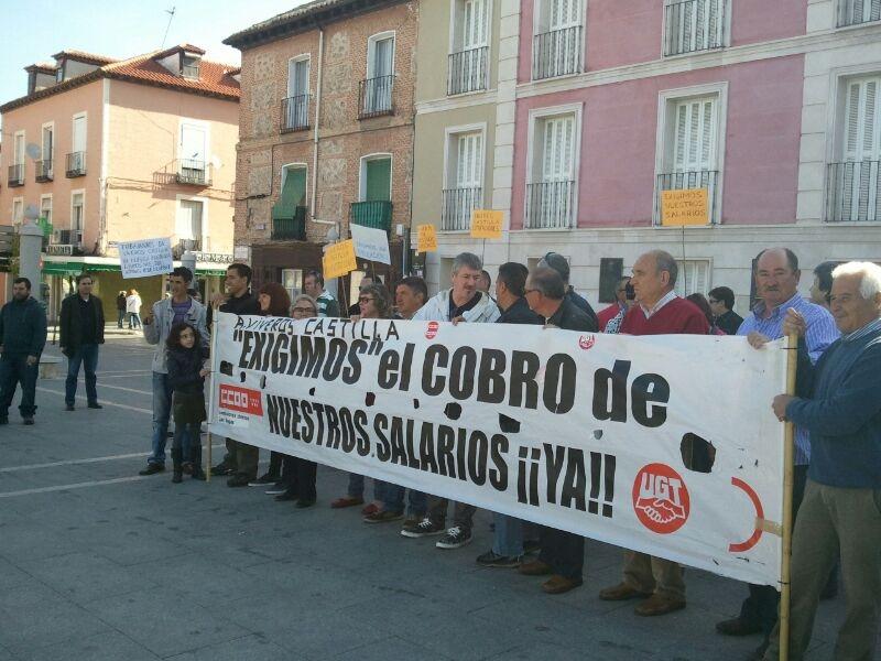 Uni n comarcal las vegas ccoo concentraci n de la - Vivero aranjuez ...