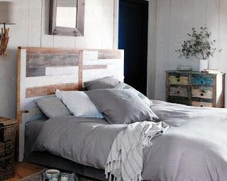 Habitación con Muebles de Madera Reciclada, Ideas Ecológicas, Modernas y de Diseño
