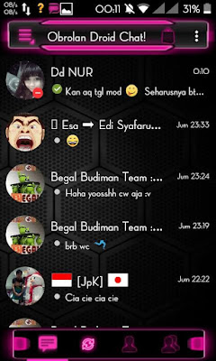 Droid Chat! v4.7.04 Tron Evolution Series Based BBM Official v2.9.0.45