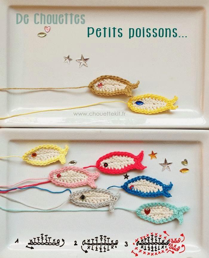 diy pescados crochet