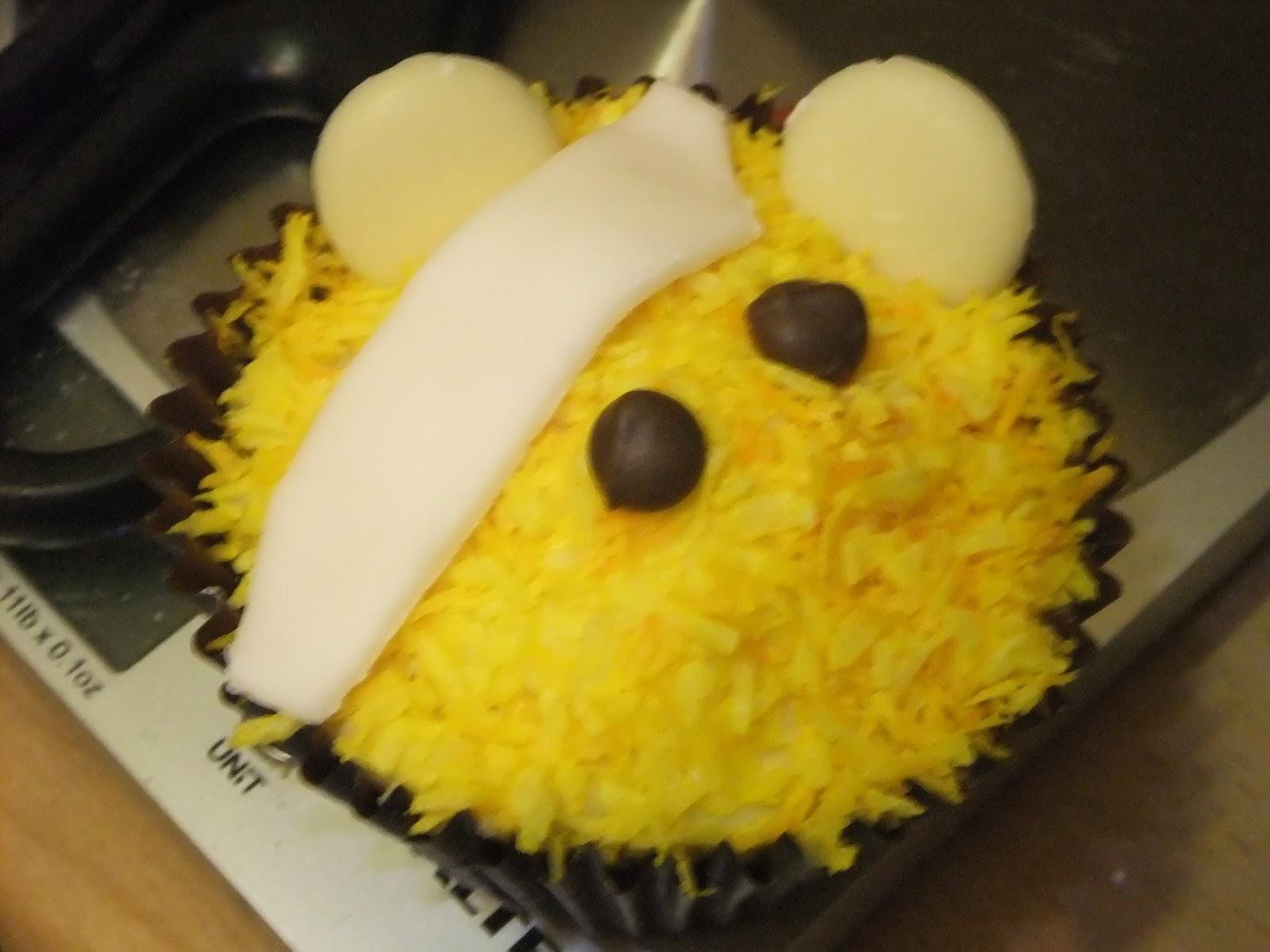 Children In Need Cupcakes - The Baking Explorer