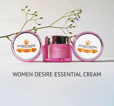 BAHAN UTAMA WOMEN DESIRE ESSENTIAL CREAM