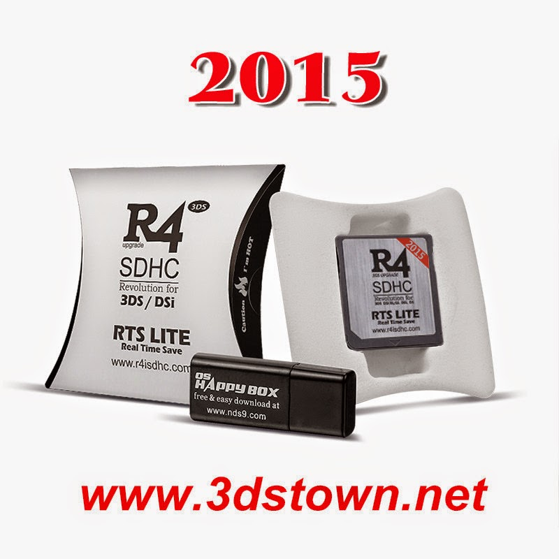 2015 R4i SDHC RTS Lite the silver