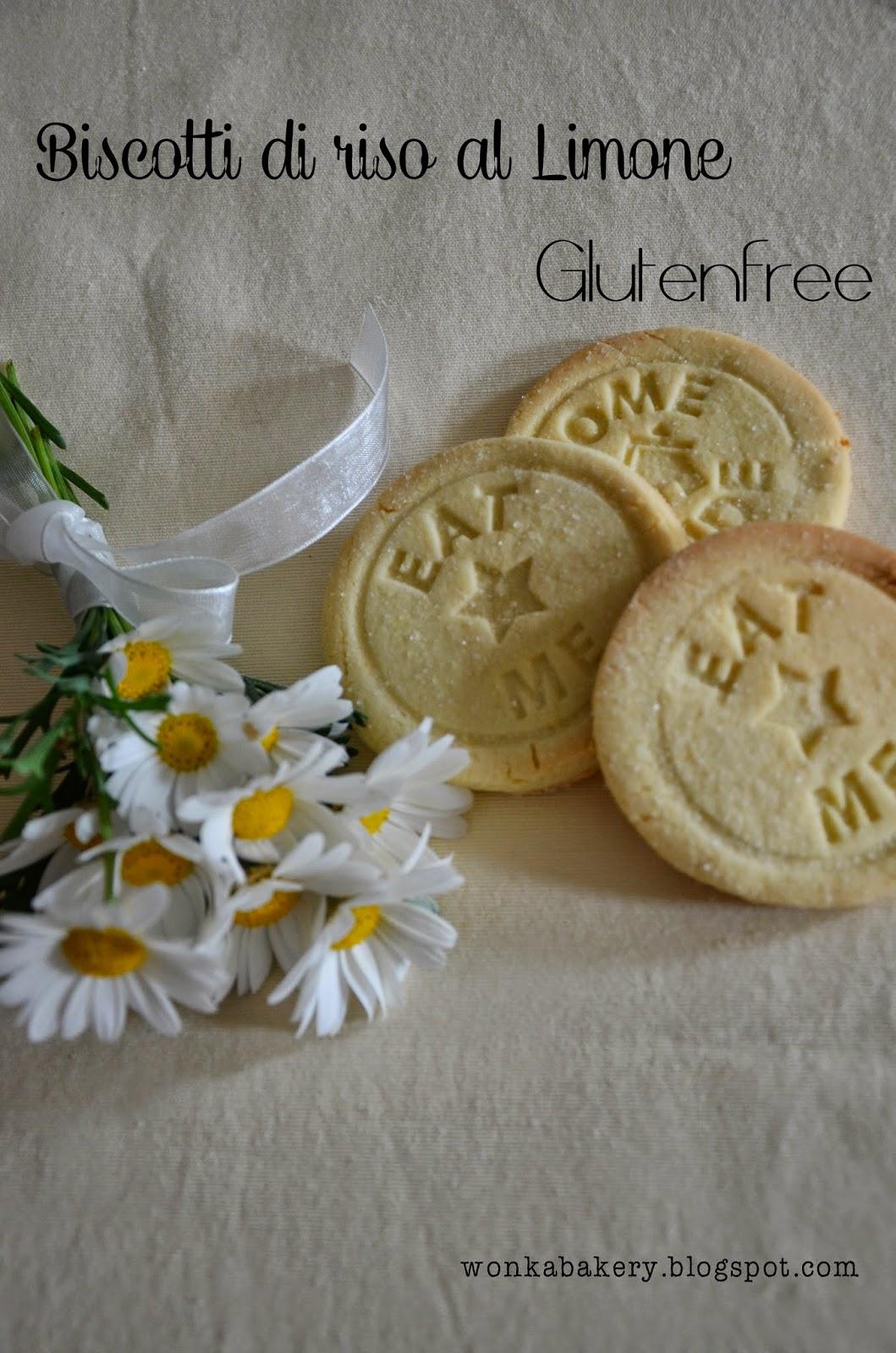 biscotti di riso glutenfree e nuova grafica per il blog!
