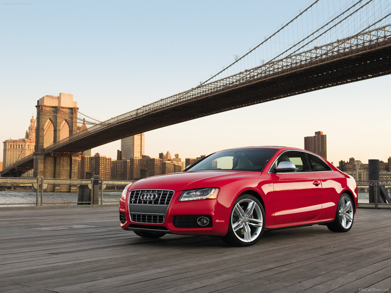 Red Audi Car Wallpapers HD