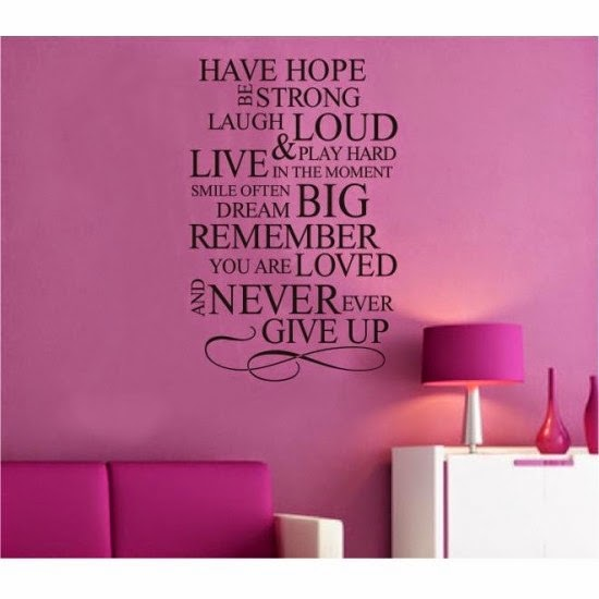 Mail4Rosey: Wall Decals Pop (and they make decorating a breeze!)
