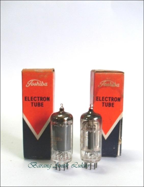 Tabung Elektronik Toshiba Japan, type 12AT6 dan 12BA6 kondisi NOS ...