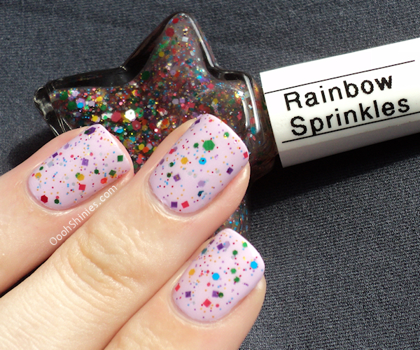 China Glaze Sweet Hook JENsations Rainbow Sprinkles