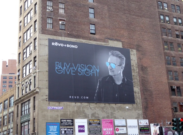 Revo Bono Buy vision Give sight billboard