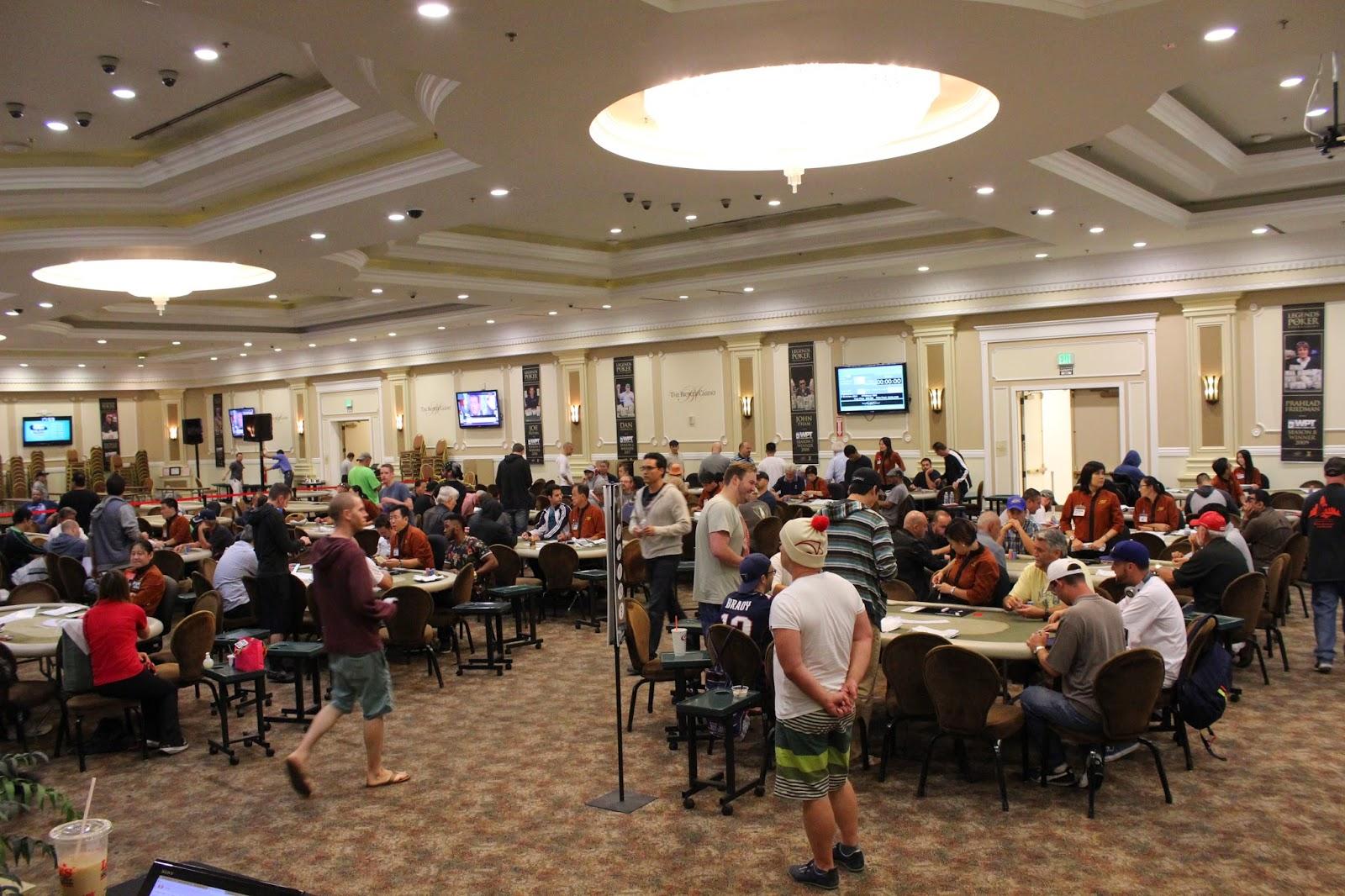 Bike poker tournament