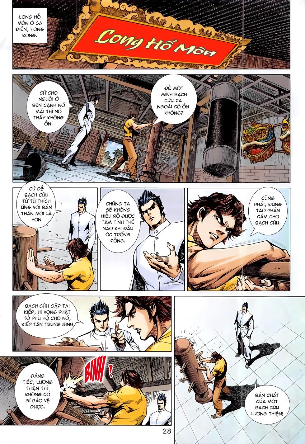 Tân Tác Long Hổ Môn chap 794 Trang 28 - Mangak.info