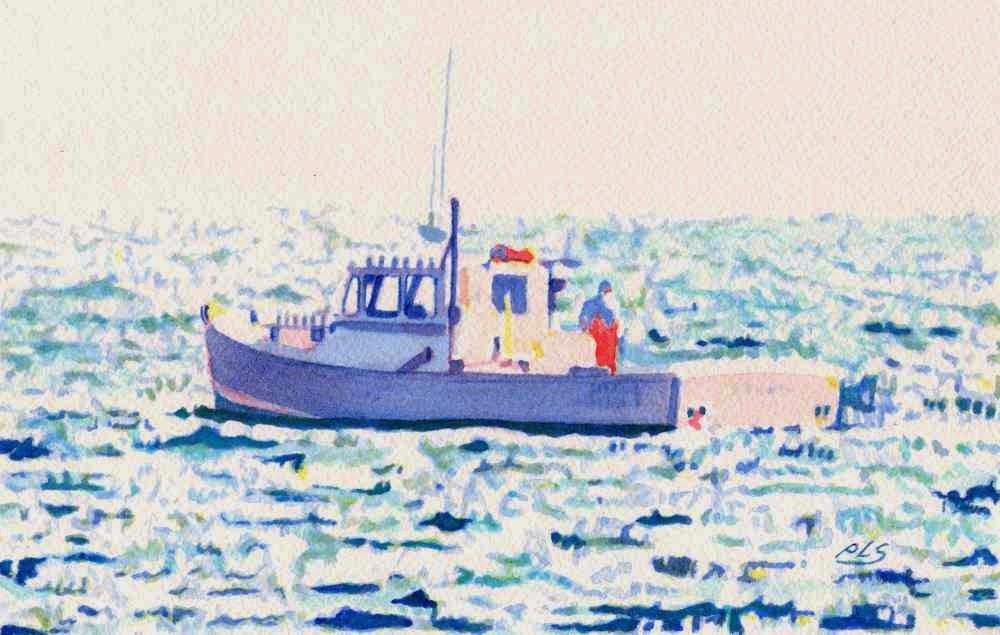 Fenris III - Watercolor